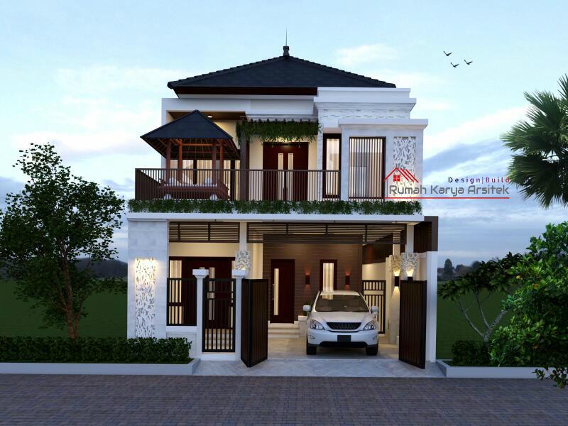 Desain Rumah Minimalis 2 Lantai – Bapak Slamet (Ciracas ...