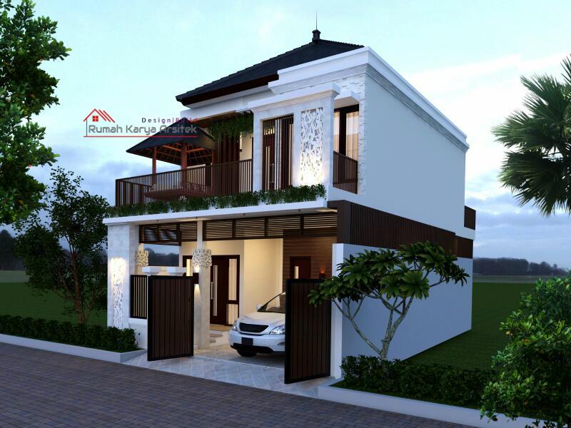 Desain Rumah Minimalis 2 Lantai Bapak Slamet Ciracas
