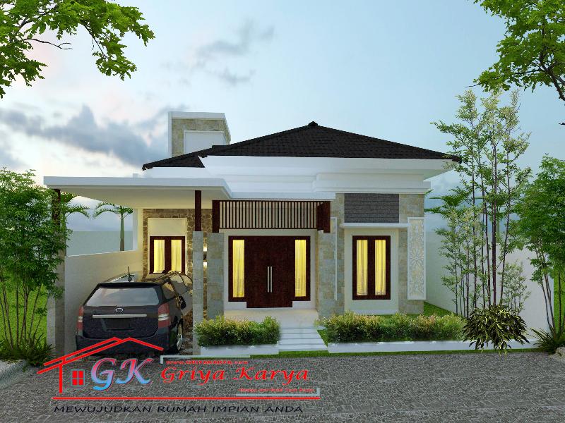 610+ Gambar Tampak Depan Rumah Bali Gratis Terbaru