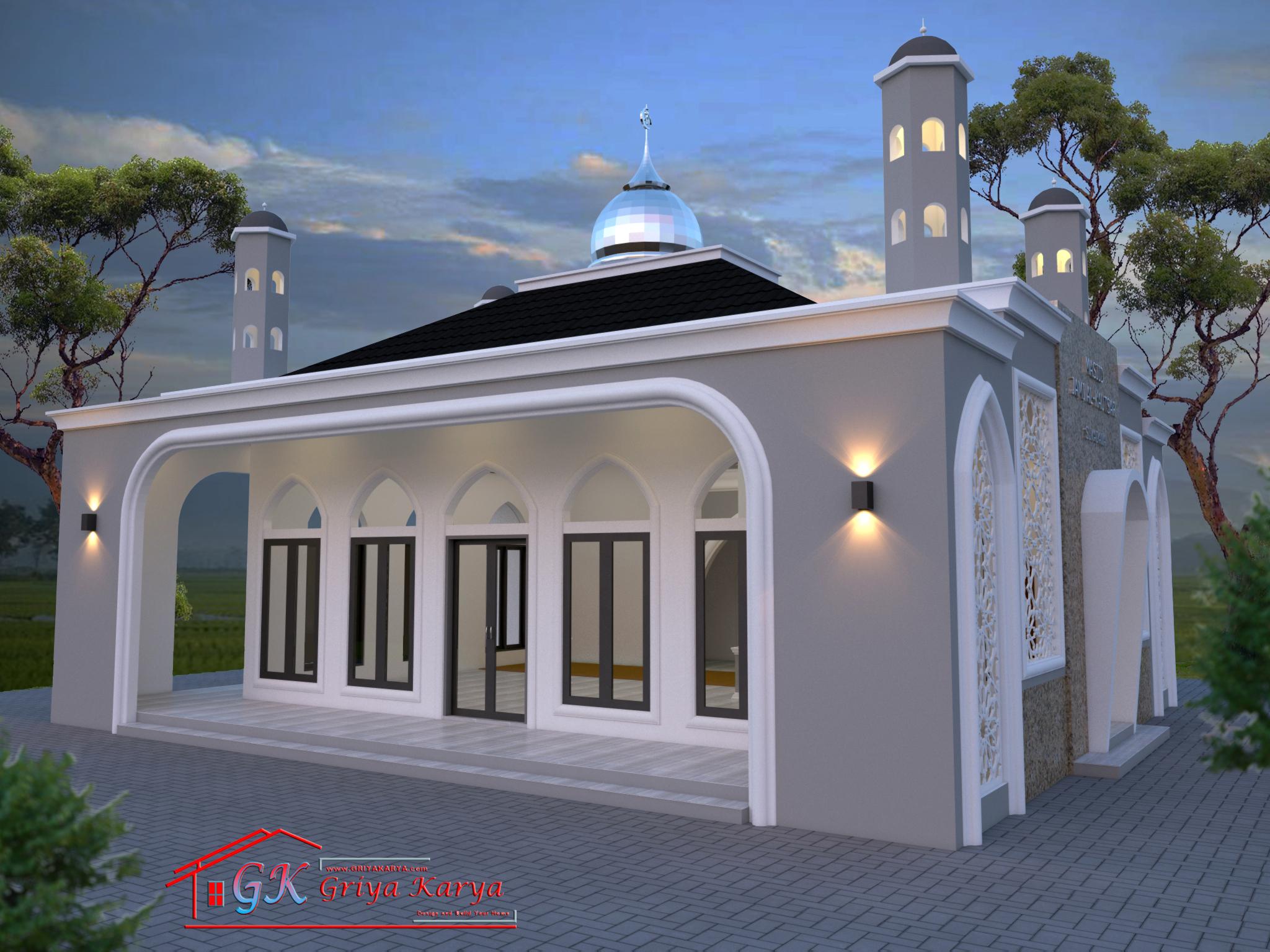 Masjid Minimalis Modern Desain Masjid Nusagates Masjid minimalis modern